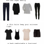 Travelista's How to Pack Light