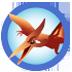 pterodactyl badge